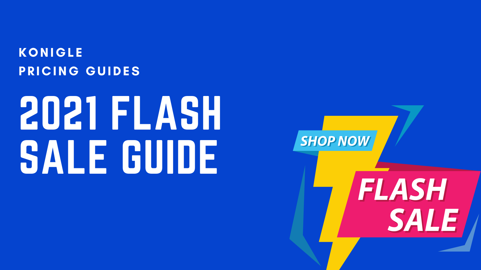 How to run a flash sale in 2021