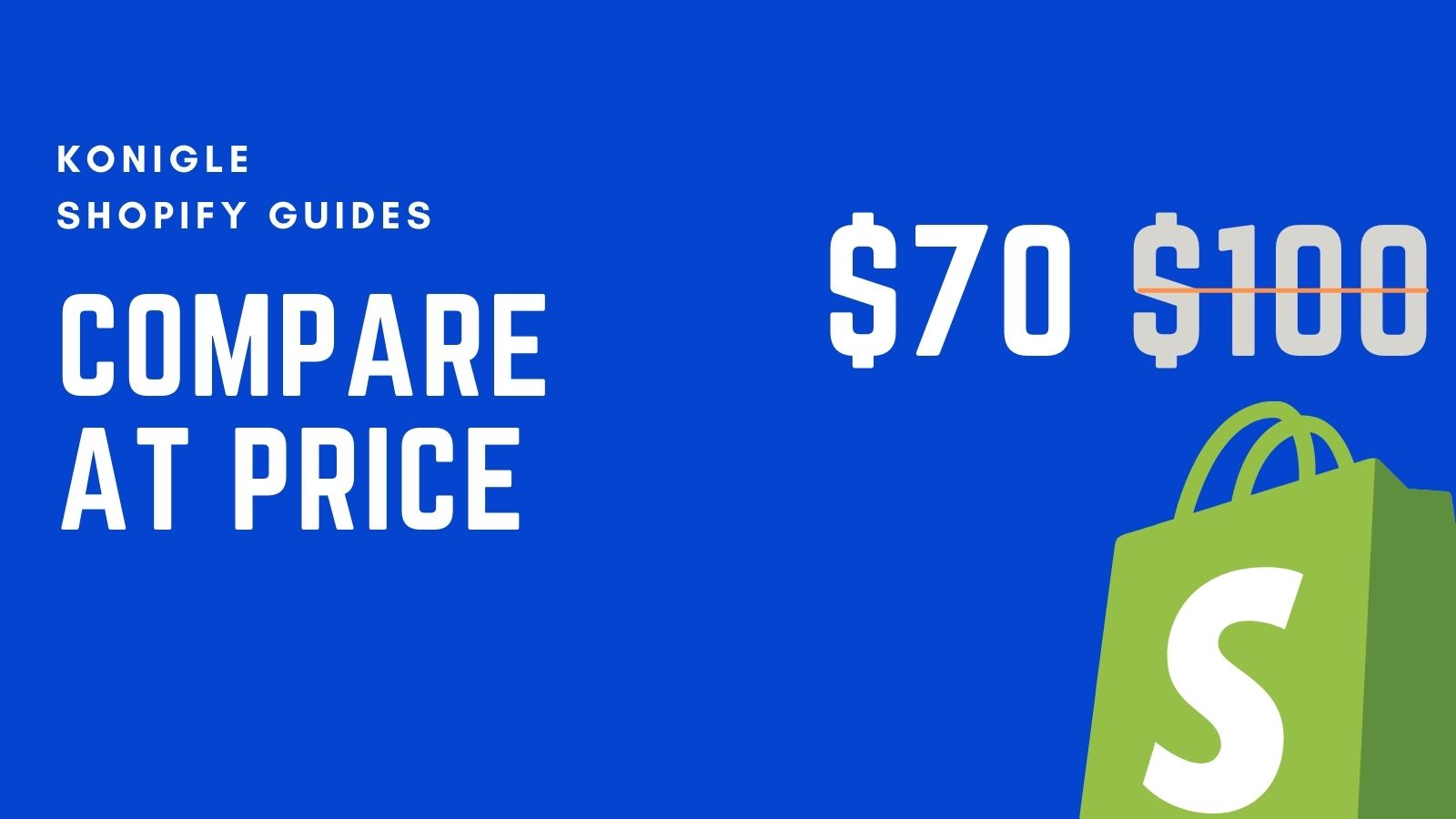 How to use compare at price effectively in Shopify?