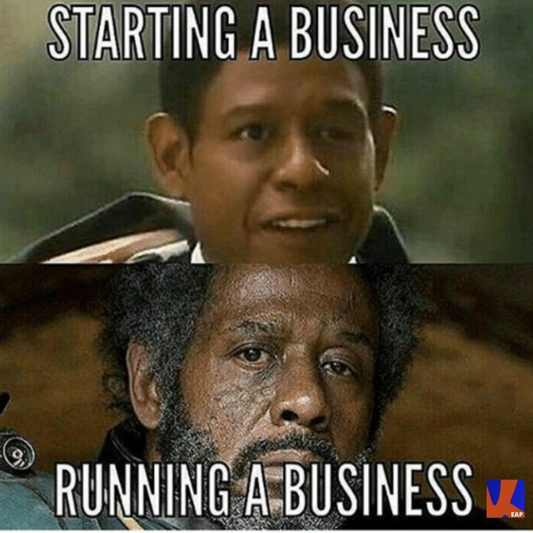 Starting a business, Running a business